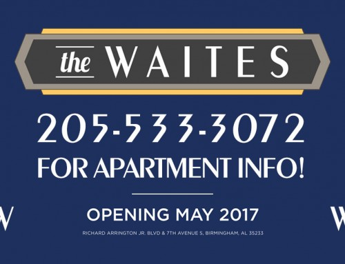 The Waites Apartments in Birmingham's Southside begins pre-leasing