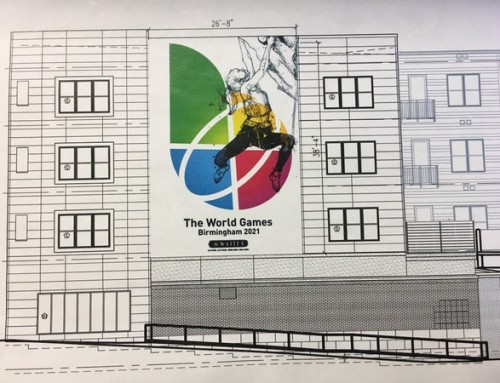 World Games mural coming to Birmingham's Five Points South